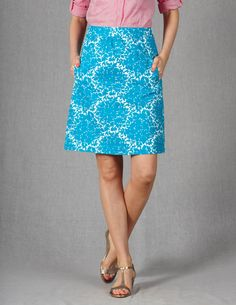 Off Duty Mini WG475 Above Knee Skirts at Boden