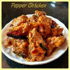 Chinu's Kitchen Corner: Pepper Chicken