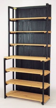 This would make a great display for either an indoor or outdoor craft booth. Foldable wood display with removable shelves: http://www.specwood.com/kshutchc.htm. #CraftDiva