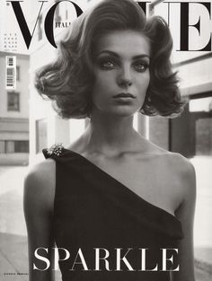 Daria Werbowy by Steven Meisel Vogue Italia October 2003