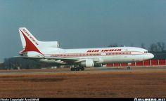 Air India Lockheed L-1011-385-3 TriStar 500 V2-LEK at Frankfurt-Main, February 1996. (Photo: Arnd Wolf)