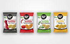 Packaging crackers bio Bean You