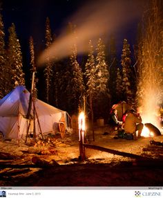 Camping Under the stars//