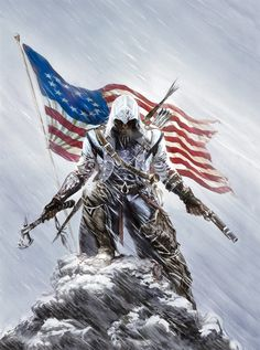 Assassins Creed III -design by Alex Ross