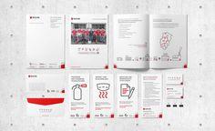 Branding for fire protection, flyer and brochure . Web Design, Corporate Design, Branding, Fire, Fire Safety, Weaving, Design Web, Brand Management, Brand Design