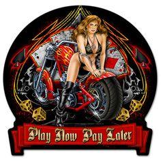 Motorcycle Pin Up Girl Harley Davidson Kunst, Classic Harley Davidson, Harley Davidson Street Glide, Harley Davidson News, Harley Davidson Motorcycles, Vintage Motorcycles, Harley Bikes, Motorcycle Posters, Motorcycle Art