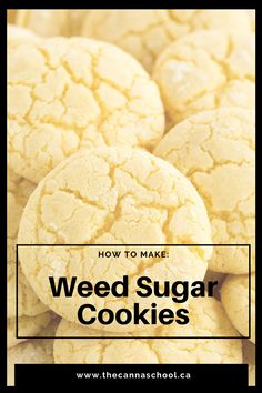 This is an oldschool sugar cookie recipe infused with cannabis! This delicious weed sugar cookies recipe is perfect for any occasion! Weed Recipes, Marijuana Recipes, Cannabis Edibles, Cooking Recipes, Marijuana Art, Marijuana Plants, Cannabis Plant, Medical Marijuana, Butter Sugar Cookies