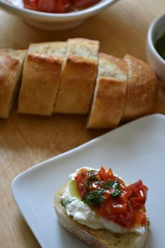 Roasted Tomato and Burrata Antipasto by Sarcastic Cooking