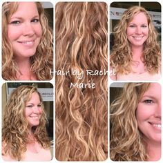 This is Kim's natural curly hair! She wanted some more natural contrast to her blonde hair, so I hand painted some darker shades of balayage for a more natural sun-kissed look.  Hair painting also know as balayage is one of the hottest trends for hair today! Call 352-505-6161 to make an appointment.. Text 386-466-5848. #handpaintedhair #redken #redkenelite #naturallookinghaircolor  #balayage #gainesvillesalon #bestsaloningainesville #pureology #salon5402 #redkenobsessed #styleyourstory…