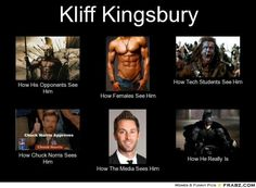 Kliff Kingsbury. Can't stop laughing at this! I'm not a raider but this is funny!! FYI: I'm an AGGIE all the way!!