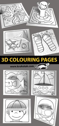 Coloring Book Pages, Coloring Pages For Kids, Kids Colouring, School Fun, Art School, Diy Arts And Crafts, Paper Crafts, Art For Kids, Crafts For Kids