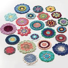 crochet motifs | poppyandbliss V Stitch Crochet, Crochet Motif, Crochet Patterns, Modern Crochet, Crotchet, Different Shapes, Decorative Plates, Mandala, Blanket