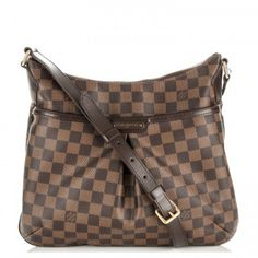 91bad3d59043 LOUIS VUITTON Damier Ebene Bloomsbury PM Used Louis Vuitton