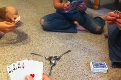 Spoons! Card Games and Board Games Boulevard Park Library Seattle, WA #Kids #Events