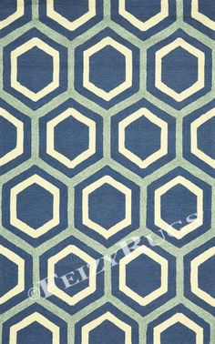 Make a bold statement in your contemporary home with the Room Envy Salvaje Indoor/Outdoor Rug . This geometric area rug combines chic colors while adding. Accent Rugs, Accent Decor, Hexagon Pattern, Rectangular Rugs, Indoor Outdoor Area Rugs, Rug Making, Handmade Rugs, Print Patterns, Pattern Ideas