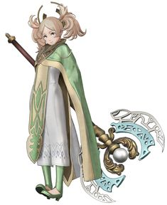 View an image titled 'Lissa, Sage Costume Art' in our Fire Emblem Warriors art gallery featuring official character designs, concept art, and promo pictures. Game Character Design, Character Concept, Lissa Fire Emblem, Fire Emblem Warriors, Drawn Art, Fire Emblem Characters, Character Costumes, Character Outfits, Fire Emblem Fates