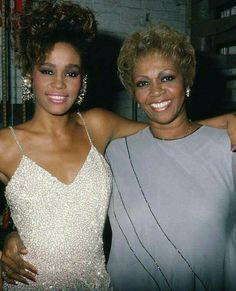 The Voices... Whitney and her Mom Cissy Houston