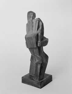 "Ossip Zadkine  ""The Accordian Player""  Bronze  1918"