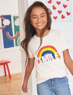b140073e75 Fun Graphic T-shirt G0960 Short Sleeved Tops at Boden Kids Fashion