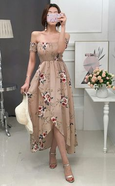 Fashion Outfits Vestidos Ideas For 2019 Trendy Dresses, Cute Dresses, Beautiful Dresses, Casual Dresses, Prom Dresses, Summer Dresses, Formal Dresses, Evening Dresses, Mode Outfits
