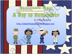 Veterans Day: A Day to Remember product from SassyTeacher75 on TeachersNotebook.com