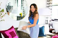 Living Room Makeover: Sabrina Soto Combines His-and-Her Styles Into One Awesome Space: Glamour.com