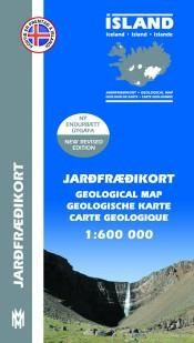 Geological Map Iceland - 1:600.000