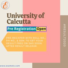 University Of Calcutta, Examination Results, Exam Results, State University, Finding Yourself, How To Get, Text Posts