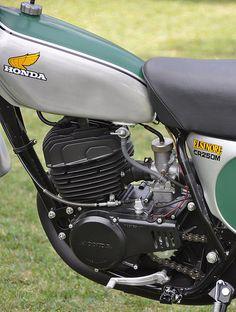 1973 Honda CR250M Elsinore | Tony Blazier | Flickr
