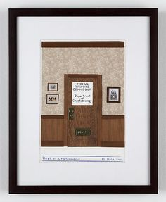 """Departamento de Criptozoología"", Mark DION (2006). Collage sobre papel | Arte Conceptual"