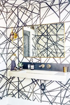 Inside a Designer's Own Insanely Glam Home via @mydomaine
