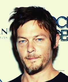 He may or may not be one of the reasons i watch Walking Dead! ;) but serious if Daryl dies, we riot!!!  -  SOOO TRUE!
