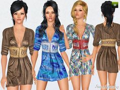 sims2fanbg's 236 - Dress