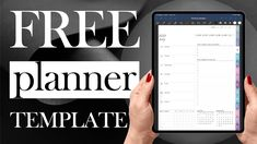 Weekly Planner Template, Free Planner, Study Hacks, Study Tips, Digital Diary, Templates, Stencils, Vorlage, College Tips