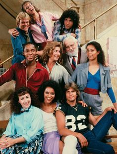 One of my favorite shows! I could imitate Debbie Allen soooo we'll ; 80 Tv Shows, Old Shows, Movies And Tv Shows, 80s Tv Series, Film Serie, Nostalgia, Sean Leonard, Debbie Allen, Vintage Tv