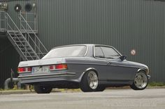 24 W123 Amg Spoilers Ideas Mercedes Benz Benz Mercedes