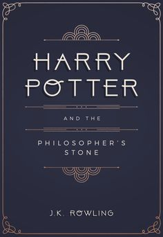 """""""Book cover redesign: Harry Potter meets art deco Prints available here """" - The Philosopher's Stone Poster Harry Potter, Harry Potter Facts, Harry Potter Books, Book Cover Design, Book Design, Bujo, Philosophers Stone, Indesign Templates, Mischief Managed"""