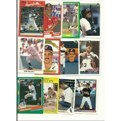 50 DIFFERENT OZZIE GUILLEN cards lot White Sox 1987 - 2006 gold chrome