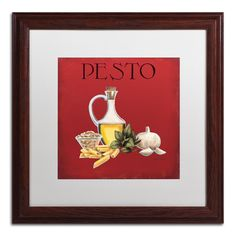 Italian Cuisine II by Marco Fabiano Framed Painting Print