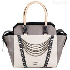Guess tru romance avery satchel vM491406 sacoche pour femme 36 x 27 x 9 cm, multi chalk