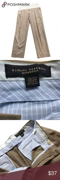 🖤 Banana Republic 🖤 Tan slacks from Banana Republic   ☑️ Size 30/32  ☑️ No tears, holes, stains, fading or defects.   ☑️ I accept all reasonable offers!!  ☑️ As always, all items are from a smoke-free pet-free home.   ☑️ Thanks for shopping Reclaimed Treasure Resale. Banana Republic Pants