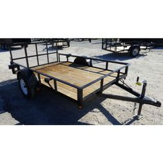 Utility Trailer x Reinforced Dove Tail Gate ATV Golf Cart Lawn Mower Lawn Trailer, Utility Trailer, Zero Turn Lawn Mowers, Tail Gate, Dove Tail, Concession Trailer, Wheels And Tires, Golf Carts, Tailgating