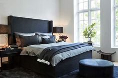 A Refined Take On Rustic Materials Shines In Scottsdale Dream Bedroom, Master Bedroom, Bedroom Decor, Bedroom Ideas, Modern Kitchen Design, Scandinavian Interior, Inspired Homes, Beautiful Interiors, Interior Inspiration