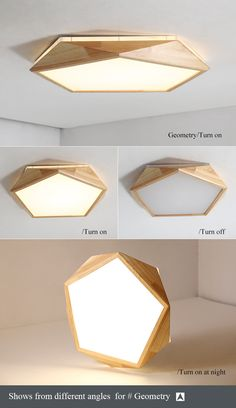 Ceiling Lights & Fans Lights & Lighting Creative Geometric Art Led Lighting Ceiling Lamp For Sitting Room Lamp Study Corridor Balcony Ceiling Lighting Skilful Manufacture