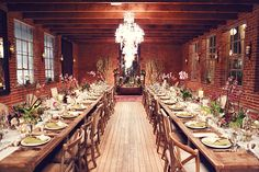 Carondelet House LA http://www.refinery29.com/2013/11/57490/wedding-locations-los-angeles#slide5  The brick walls add major points in our book.