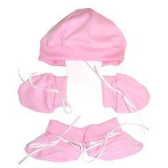 Premature preemie tiny baby girls clothes Spanish style romper hat set 3-8 lbs