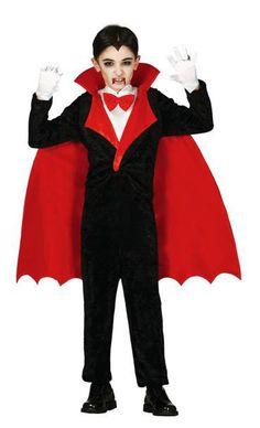 Disfraz niño Conde Drácula  Conviértete en el terrorífico Drácula letal para los humanos que se acerquen a ti.