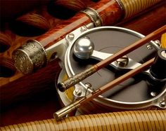 Antique fishing tackle-Oyster fly rods