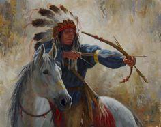 The Guardian Warrior | Blackfoot | James Ayers Studios