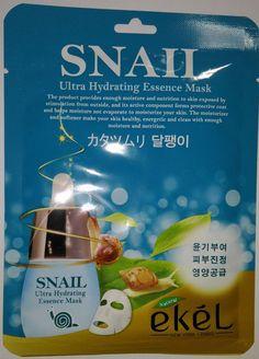 Ekel Snail Ultra Hydrating Essence Mask Pack K-Beauty 1pcs #EKEL